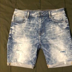 American Eagles Distressed Extreme Flex Shorts